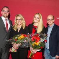 v.l.n.r.: Peter Reiß, Claudia Arabackyj, Magdalena Reiß und Thorsten Brehm