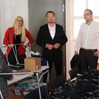 v.l.: Magdalena Reiß, Uli Grötsch (MdB), Peter Reiß
